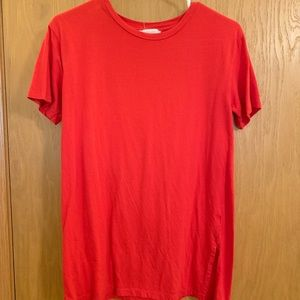 red forever 21 t shirt
